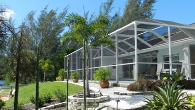 Photo for OPEN FOR  BEGINNING OF APRIL, New Listing, Private Pool, Private Dock, Tiki Hut