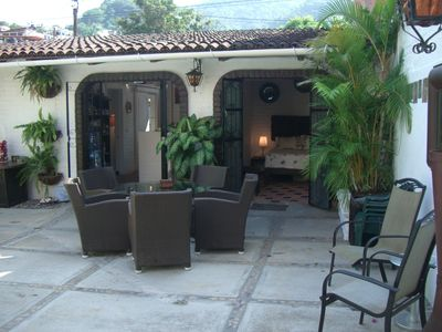 Photo for Wonderful old charm Casita with private pool