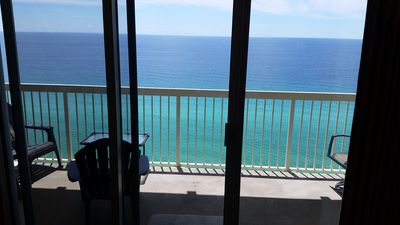 Photo for Unobstructed Gulf View, 22nd Floor Celadon Beach Resort