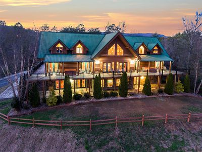 Photo for AMAZING PRIVATE POOL and PIGEON FORGE CABIN RENTAL - Reunions - Meeting Space