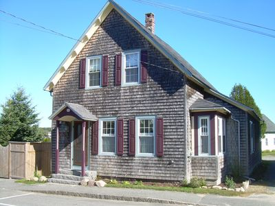 Photo for Victorian Cottage In Downeast Winter Harbor with Ocean Views,  Extensive Gardens
