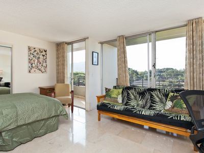 Photo for Ocean Views from Two Balcony Queen Suite / 1/2 Block to Waikiki Beach,