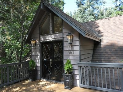 Photo for Spectacular Forest Setting 1 Mile From Lake Arrowhead Village-Family Friendly