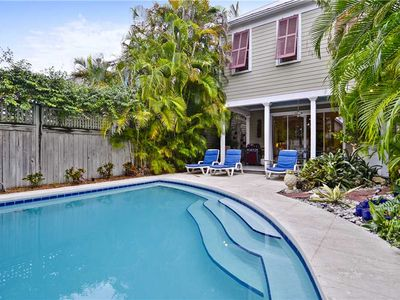 Photo for Located in Old Town, AMELIA HOME offers private pool; PET FRIENDLY PROPERTY!