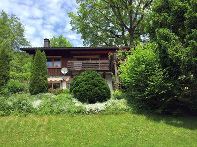 Photo for Peacefully located single family house, panoramic view, close to the Alpsee