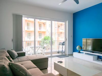 Photo for Modern 3 Bed Apartment - Walk to the Sea & Bugibba Square
