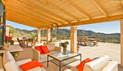 Photo for Villa Luisa, amazing finca with pool and sea views.