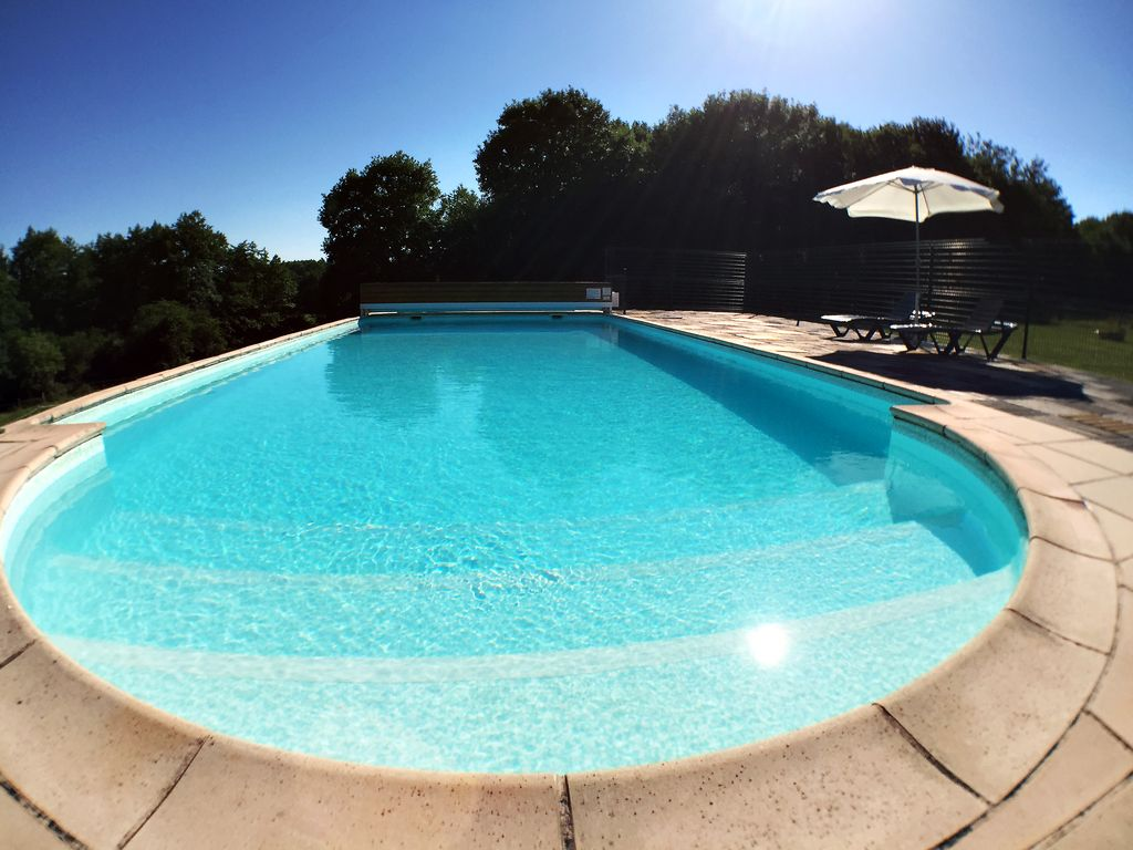 Large Comfortable Holiday Home With Swimming Pool 12 Persons Chatenoy En Bresse Burgundy
