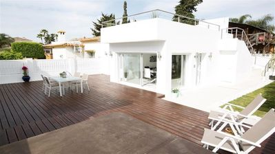 Photo for Contemporary property on a quiet street near to the beach in San Pedro
