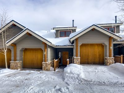 Photo for Townhome with Private Hot Tub w/ ski runs nearby and close to town!