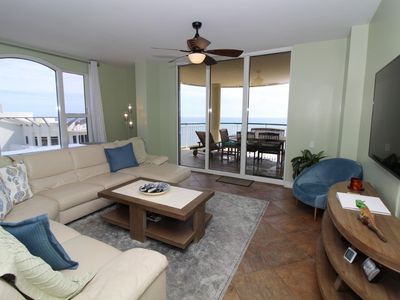 Photo for Beach Colony East Penthouse 16A-Beach Front unit with amazing views!