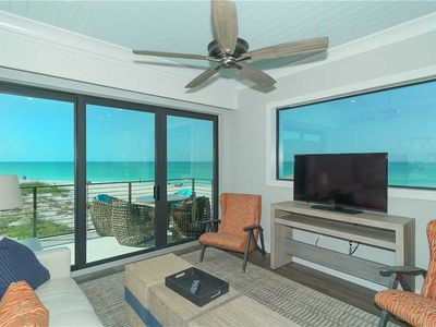 Beach Front Suite! Panoramic Views of the Gulf! 1-2 Night Stays Available!