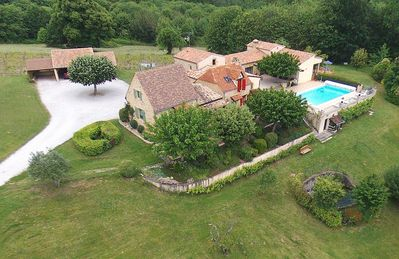 Photo for Domaine de l'Homme: The Red House with swimming pool