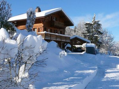Photo for Quiet chalet Morillon / Samoëns - near slopes - Amazing view - ideal for family