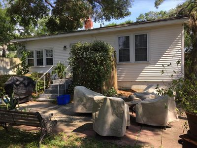 Photo for The Hideaway Affordable 2 BR 3 minute walk to beach!