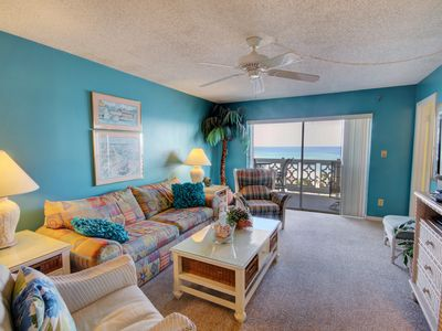 Photo for Spectacular Views Condo w/Balcony, Pool, Tennis, Private Beach Access, & More!
