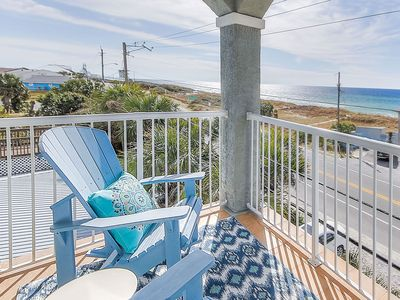Photo for MAY STEAL!!! Gorgeous Ocean Views Beach House on Lake w/ pool