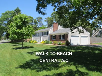 Photo for 6 bedroom 3 bath Home with Central A/C, Walk to Beach, Gated Yard, Wifi, HD TV