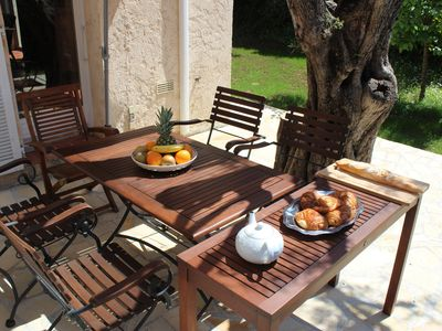 Photo for Charming renovated  house in Antibes / Nice terrace & Garden /Spa/Pool/Parking