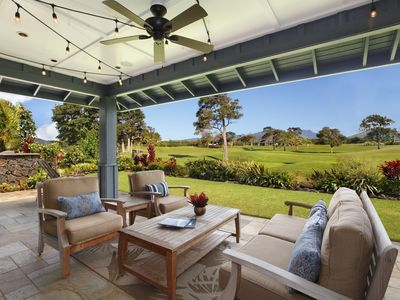 Photo for Fairway front, Private home, Mountain view, Posh, Poipu Beach Club, Awapuhi Hale