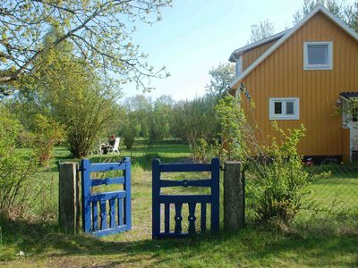 Photo for Tasteful holiday home in southern Sweden near the sea with large plot