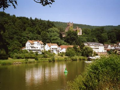 Photo for wonderful location directly at the river 12 km to Heidelberg