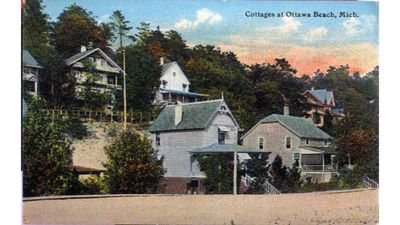 Photo for Walk to Holland State Park from historic 1900's cottage on private boardwalk