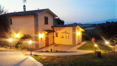 Photo for Villa Maria 3 bedroom Villa with Private Sun Kissed Pool in Tuscany