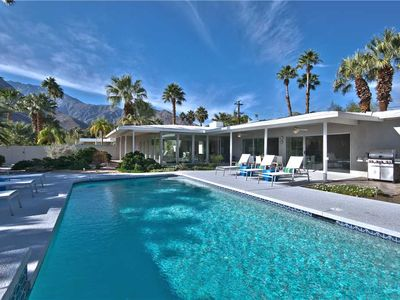 Photo for Midcentury Pool Home in Chino Canyon/Las Palmas Area + Close to Uptown PS!