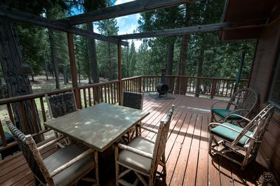 Deck and Patio View
