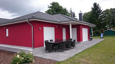 Photo for Newly built exclusive and modern holiday home in the bungalow style