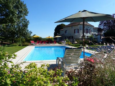 Photo for Swimming Pool, Spa, Sauna, Pizza oven - Holiday home for 8