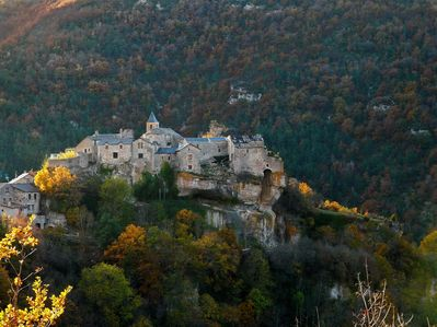 Cantobre from the east (in autumn)