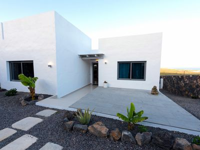Photo for Deluxe Villa, 1km to Paradisal Beach, Private Pool, Sea views, Incl Car/Transfer
