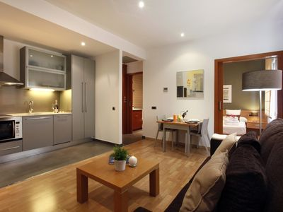 Photo for Places4stay Ramblas 1 Bedroom Apartment IV