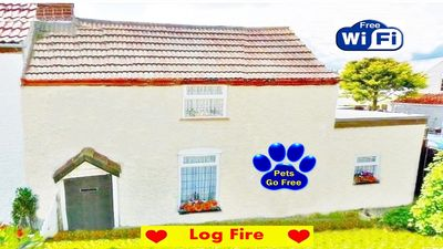 Photo for A COSY COTTAGE BY THE SEA WITH LOG BURNER - THE PERFECT ROMANTIC RETREAT