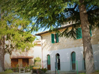 Photo for Stone House  In A Little Ancient Hamlet Full Immersed In The Umbrian Green Hill