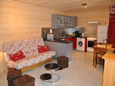 """Photo for Detached chalet Samaje located in the """"Les Plagnes"""" sector. Recent chalet of 2012 in a sector"""