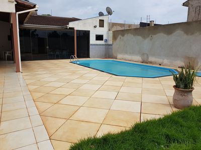 Photo for House with 1 suite, 1 bedroom and pool in Foz do Iguaçu.