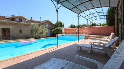 Photo for Carpentras Mont Ventoux, swimming pool 2 bedrooms, WIFI provence (84 vaucluse)