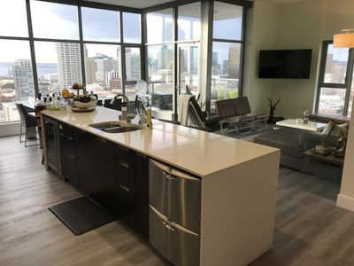 Photo for AMAZING VIEWS - Stunning Modern Downtown Condo