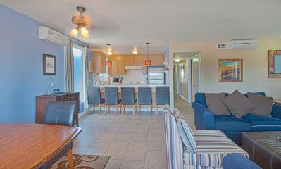Photo for Spacious and cute upper unit located just 3 houses from the beach!