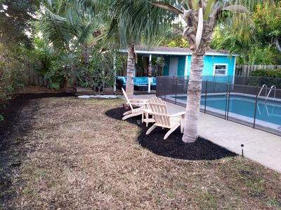 Photo for Your own little oasis, family friendly, pet friendly, house with pool