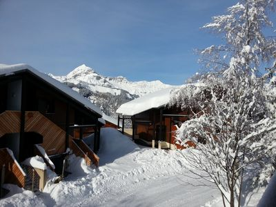 Photo for Beautiful Apartment in a chalet on the slopes