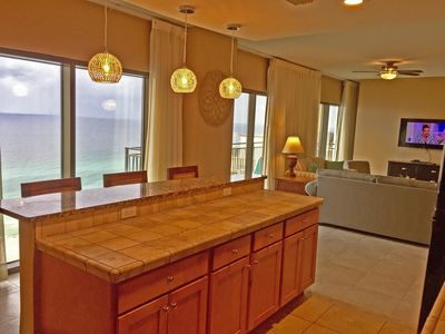 Photo for Luxury 1900 sq ft penthouse w/ gulf views from every room! Beautiful Sunsets !!