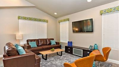 Photo for Pet Friendly, 3 Master Suites, Free Wifi, BBQ Grill, Patio!