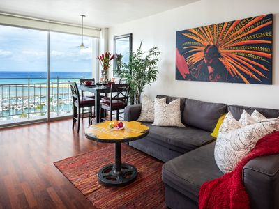 Photo for Lux Ocean Front Penthouse! Stunning Views, Free WiFi, Wsh/Dry, wlk to Ala Moana