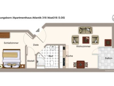 Photo for kbat318 Apartment house Atlantik 318 - Apartment house Atlantik 318