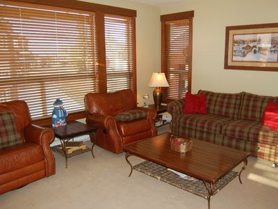 Photo for Big White Stonebridge Lodge 1 Bedroom Executive Condo with Hot Tub