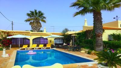 Photo for Authentic Algarvian villa with private pool, near to Carvoeiro, a tourist town.
